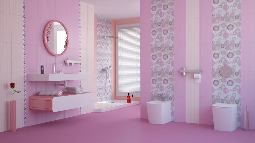 Подова плочка за баня Dreams Fresh Lila 2