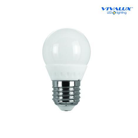Керамична LED лампа 3,5W E27 топла