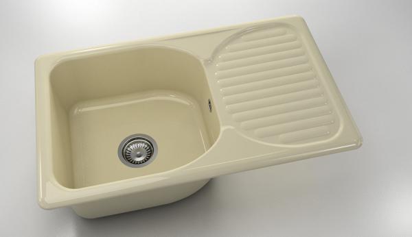 Кухненска мивка Полимермрамор FAT/2150301/ 80x49