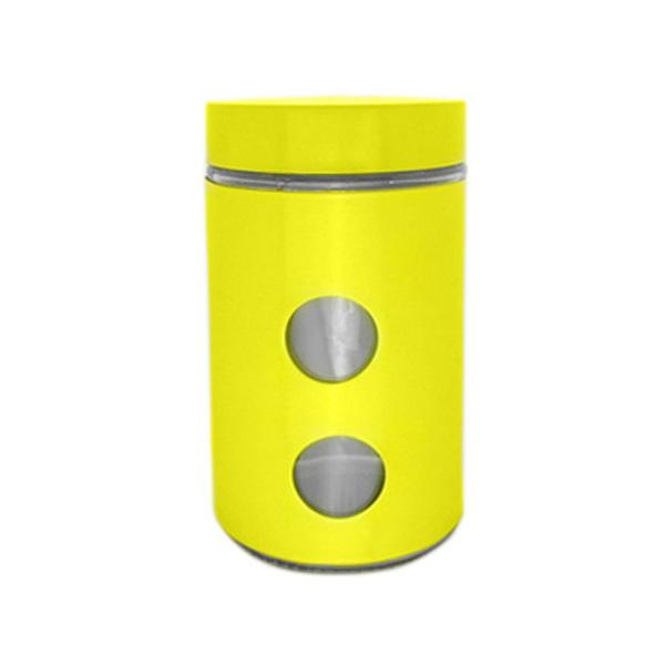 Буркан 10x18 см, жълт