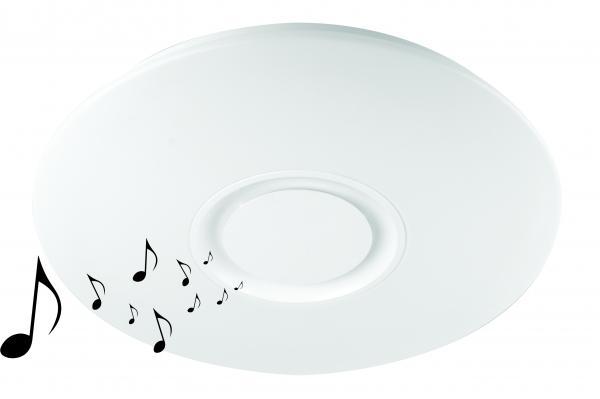 LED Музикален плафон 24W Ф400 Blue Tooth Plastic