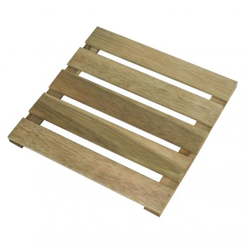 Дървена плочка  Lara 40x40 см