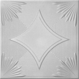 XPS Таванна плоча бяло
