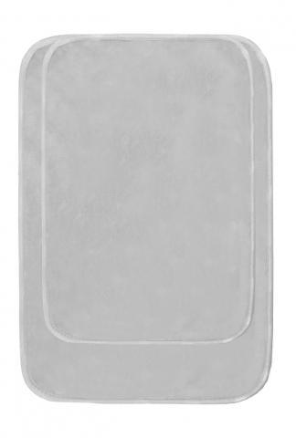 Комплект килими за баня сив