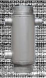 Въздушна риза Ф180 60х80 инокс