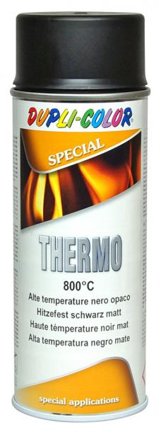 Високотемпературен спрей Dupli Color 400мл, черен