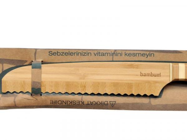 Бамбуков нож за хляб