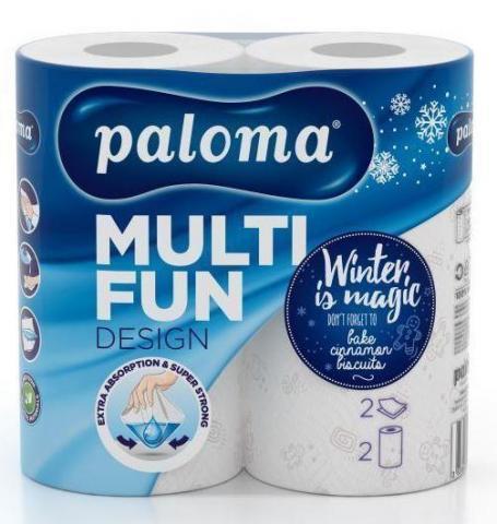 Кухненска ролка Палома MULTI FUN PRINT 2/1, 2 пл