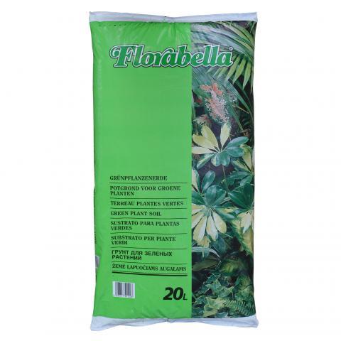 Florabella Почва за зелени растения 20 л