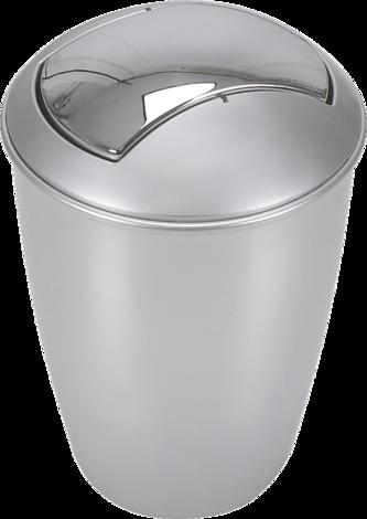 Кош за боклук Atlanta,сребро