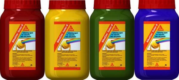 Оксидна боя Sika Cim 400гр, жълта