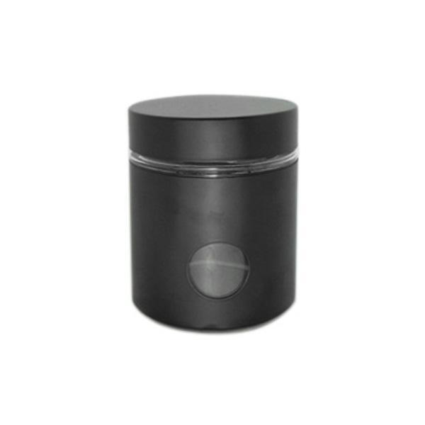 Буркан 10x12 см, черен