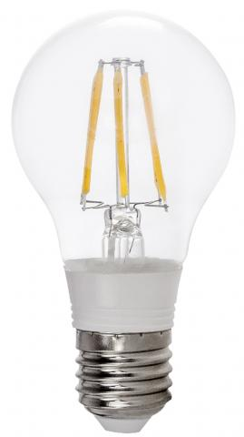 LED крушка FILAMENT 5W E27 A55 CW  6500K