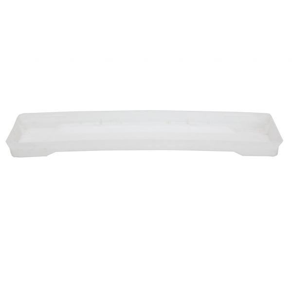 Подложка за сандъче Ребра 48 см, бяла