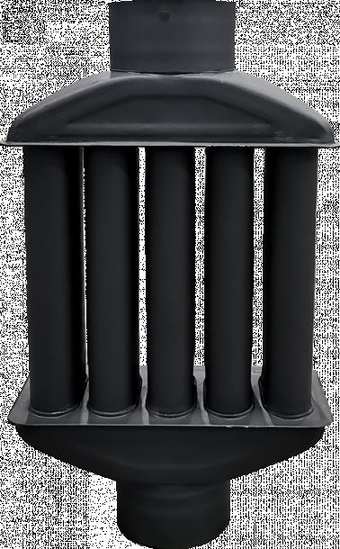Топлообменник Ф130 мат сив