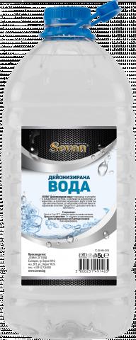 SEVAN дейонизирана вода 5л