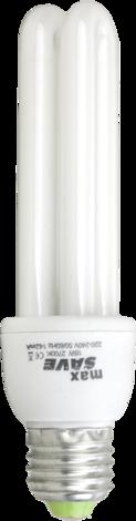 Енергоспестяваща лампа 15W E27 2700К 2U 12мм