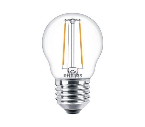 LED филамент балонче 2W/25W/ P45 E27 2700K
