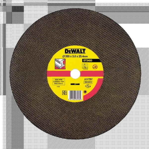 Абразивен диск за рязане метал DeWalt 355мм