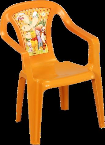 Детски стол Disney жълт