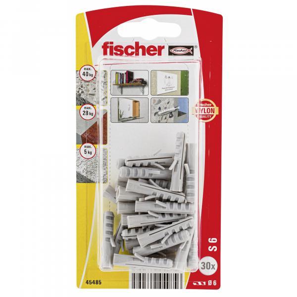 Найлонов дюбел Fischer S 6 GK