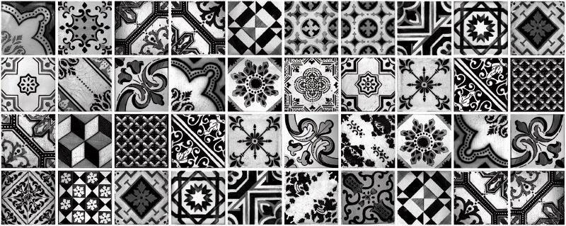 Декор Carrara Patchwork Decor 20x50