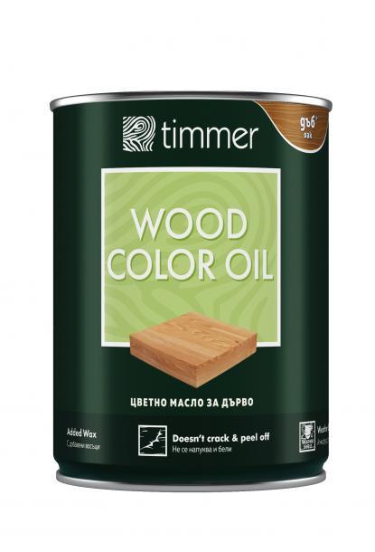 Масло за дърво Timmer 0.75л, дъб