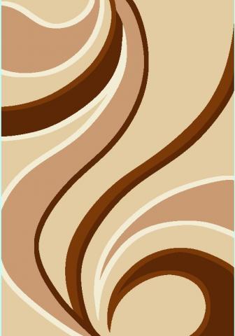 Килим SMART 8597A beige brown, 80/150