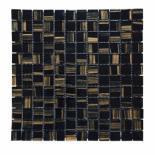 Стъклена мозайка черен/беж
