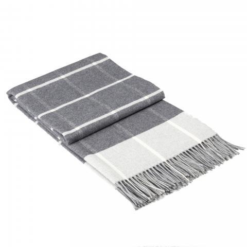 Одеяло Онтарио сиво 140x200 см