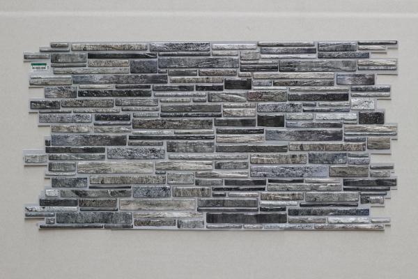 PVC панел 4614 / Gray Plastushka / 0,5м2