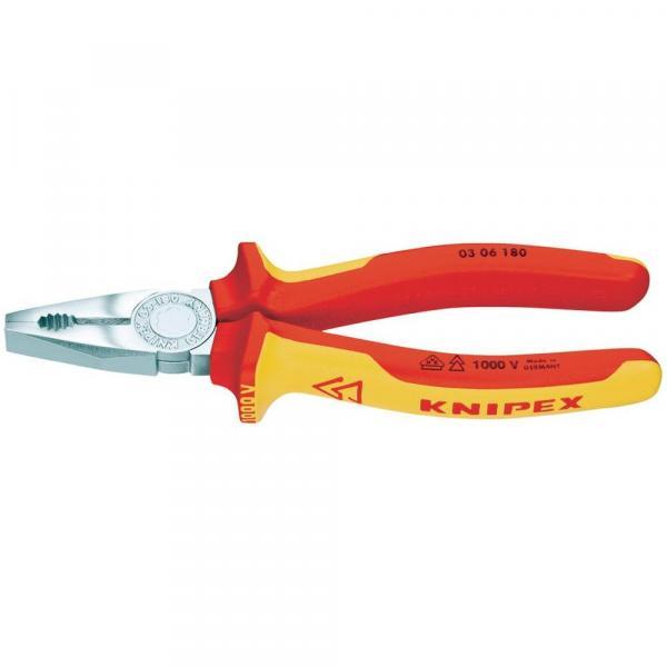 Клещи комбинирани 180мм Knipex