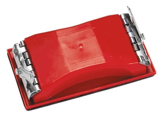 Блокче шлифовъчно, 210 х 105 mm, пластмасово, с щипки// MTX