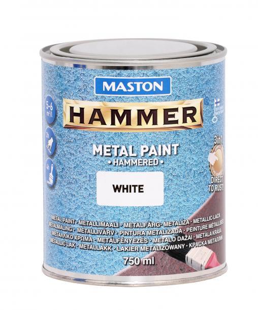 Боя с хамър ефект Maston 3в1 0.75л, бяла