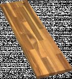 Слепени плоскости акация 18х200х2000 мм