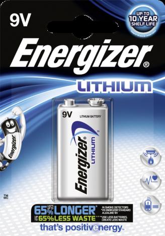 Батерия ENR Ultim Lit. 9v FSB1