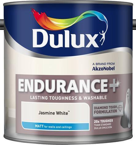 Интериорна боя DuluxMat суперустойчива жасмин 2.5л