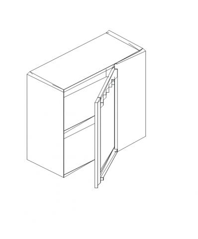 Талпи горен ъглов шкаф 60х29х70.5