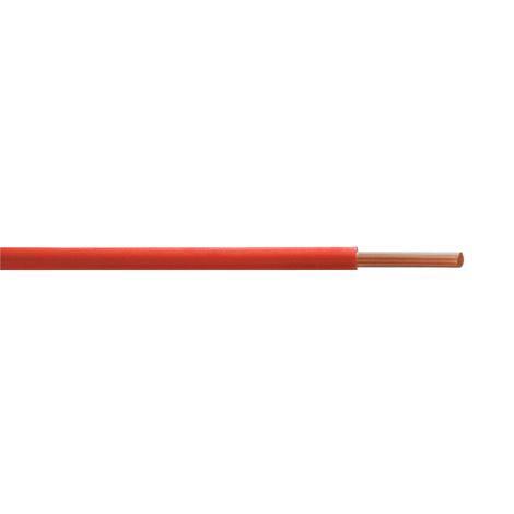 Кабел H05V-U 1x0.50mm2 червен