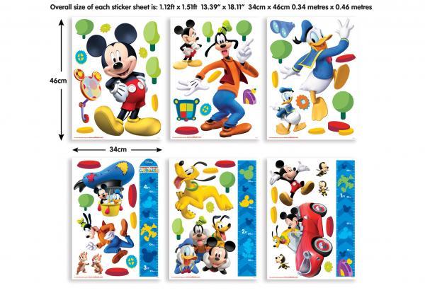 Детски стикери Disney Mickey Mouse Clubhouse