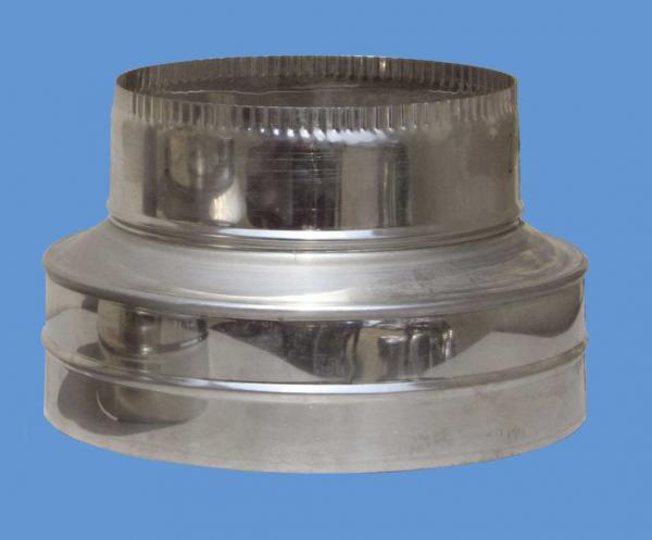 Редуктор Ф160-130 инокс