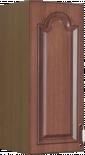 """Горен шкаф с една врата """"Орех"""", В 30см"""