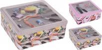 Кутия за съхранение с отвор 23.X21.7X8.8 см