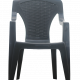 Стол ARONA пластмасов с подлакътници и висока облегалка 2
