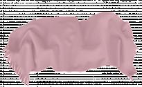 Одеяло Полар 100/150 с ресни розово