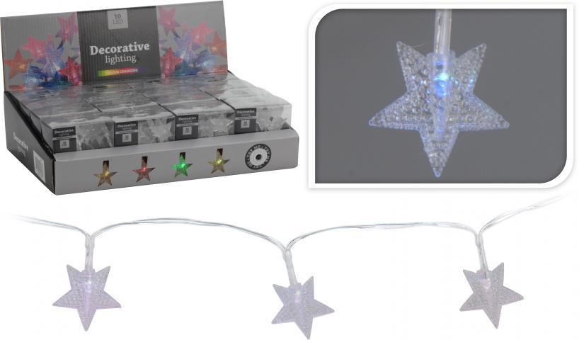 Коледни LEDлампички 'Звезди'