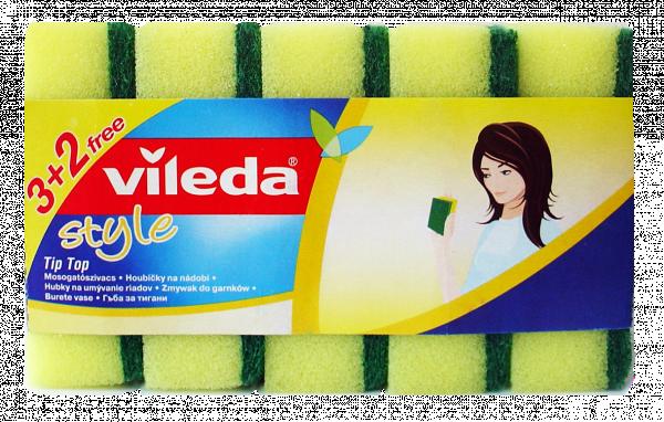 Гъба Vileda Tip-top 3+2