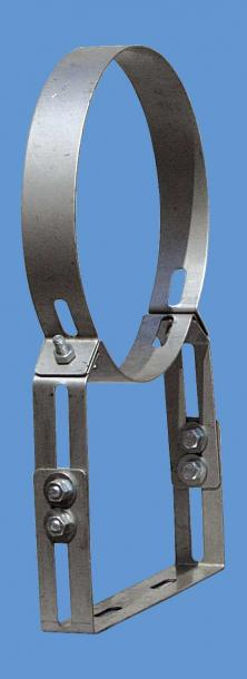 Скоби подсилени регулиращи Ф160