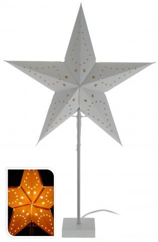 Светеща хартиена звезда