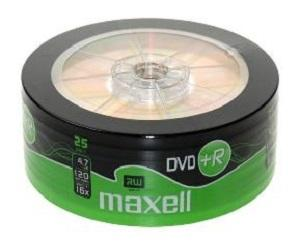 DVD+R4.7Gb 25Shrink Maxell